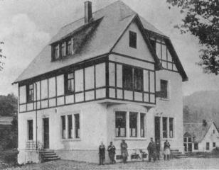 Das Gasthaus in den 20er jahren